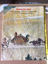 1966 Winchester-Western 100th Edition Catalog Sporting Arms And Ammunition