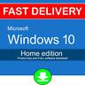 5PC Windows 10 Home 32 64 bit Genuine License Product Key Code + Download UK USA