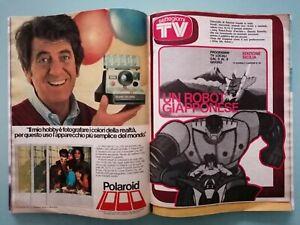 SORRISI E CANZONI TV # 1979 - ANTEPRIMA JEEG ROBOT D'ACCIAIO