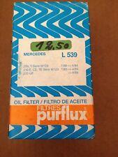 PURFLUX L 539  Ölfilter für Oldtimer Mercedes W123 80-84 200 E CE TE 230 GE