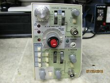 Tektronix 465M 100MHz2 Channel Oscilloscope TIME BASE MODULE
