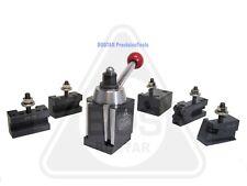 Bostar Bxa 250 222 Wedge Type Tool Post Tool Holder Set For Lathe 10 15 6pc