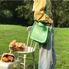 Women's Casual Travel Shoulder Canvas Bag Shopping Handbags Crossbody Bags LH