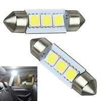 White LED Lights Interior Package 1157/T10 31 36mm Map Dome License Plate New