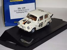 FIAT 850 TC #48 CLASS WINNER NURBURGRING 1962 PROGETTO PK129 1:43
