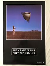 Cranberries 1999 Promo Poster Two-Sided Bury The Hatchet Delores O'Riordan.