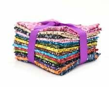 Bandana  fat quarter pack pre cut 100% cotton fabric quilt 15 pieces