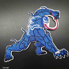 Venom Embroidered Spider-Man Patch Embroidery Patches Iron Sew On Marvel Comics