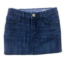 Baby Gap 3T Jean Skirt Denim Mini Adjustable Waist Girls Toddler Blue
