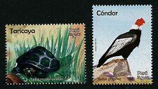 Peru 2017 Kondor Schildkröte Condor Turtle Tiere Animals Vogel Bird MNH
