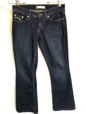 Womens Levis 524 Too Superlow Jeans Dark Wash 29 X 29 Strech Denim E8-13