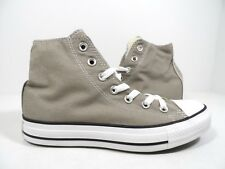 3df4b6568e31 Mens Converse All Star Hi Canvas BOOTS Size UK 3 - 12 Womens Old Silver  142368f