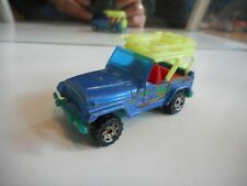 Matchbox Jeep Wrangler in Blue/Yellow