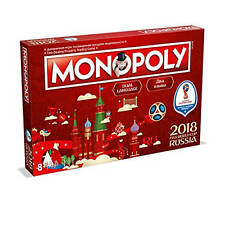 Monopoly 2018 FIFA World Cup Russia Dual Language (RUS/ENG) Edition Board Game