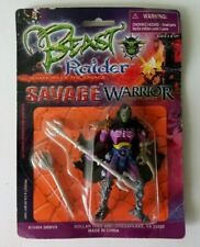 2003 BEAST RAIDER WARRIORS OF THE SAVAGE BLADE KILLER ACTION FIGURE - MOC