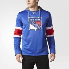 Adidas New York Rangers Jersey Replica Hoodie NHL Fleece Pullover Hood XL