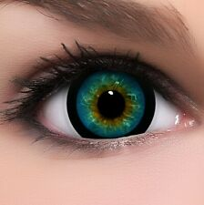 "BigEyes Circle Lenses Blau ""Candy Blue"" Kontaktlinsen + GRATIS Behälter"