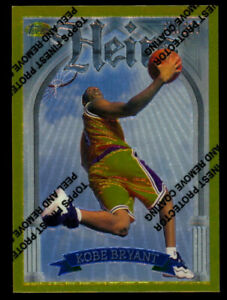 1996 Topps Finest Gold #269 RC Rookie Kobe Bryant *Centered with Coating
