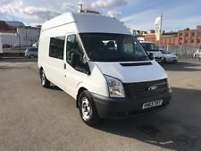 FORD TRANSIT T350 125 PS CREW VAN WELFARE VAN DOUBLE CAB 2013 63 ONE OWNER