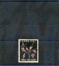 TIMOR  Sc 269(SG 333)F-VF USED  5P FLOWER $44