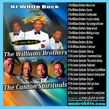 Very best of The Williams Brothers & The Canton Spirituals
