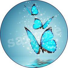 Papillon Animal Deco Gateau Disque Azyme Comestible Anniversaire 20 cm