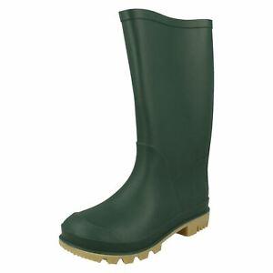 Unisex Childrens Spot On Wellington Boots '130 P'
