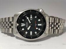 VINTAGE SEIKO DIVER 4205-0155 BLACK DIAL AUTOMATIC WATCH S.N: 4D0364