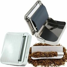 Automatic Cigarette Tobacco Smoking Rolling Machine Case Tin Box
