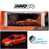 INNO64 2014 TOYOYA 86 (Orange) 1:64 2020 New Model