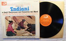 Musica Degli Indiani E Degli Eschimesi Dell'America Del Nord 2 LP Gatefold