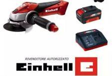 Einhell 4431113 Smerigliatrice Angolare a Batteria - Rosso (Kit con Batteria...