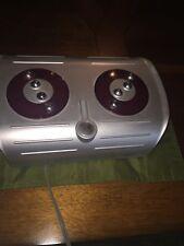 Homedics Foot Pleaser Massager Pedicure spa massage vibration Model FM-CR EUC