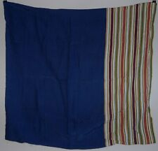 Furoshiki wrapping cloth or scarf, stripes, cotton blend, Japan