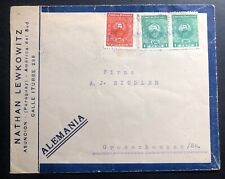 1926 Asuncion Paraguay Commercial cover To Grosschoenau Germany