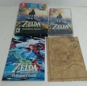 Nintendo Switch Legend of Zelda: Breath of the Wil -Explorer's Edition no cart
