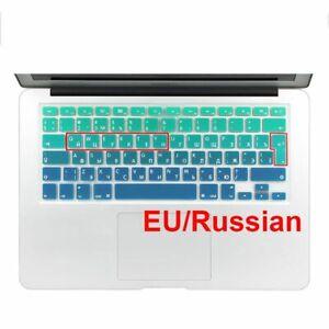 Waterproof Keyboard Cover Spanish English Russian For Macbook Air 13 Protector