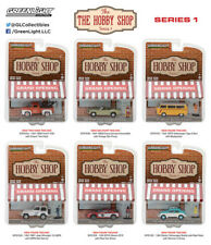 Greenlight 97010 The Hobby Shop Series 1, Set of 6  1:64 Diecast Cars