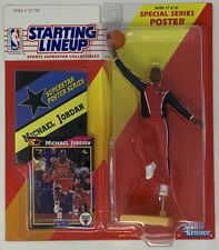 Starting Lineup MINT Michael Jordan Figure With Poster 1992 by Kenner 67946 G2