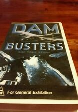 DAM BUSTERS THE TRUE STORY VHS VIDEO