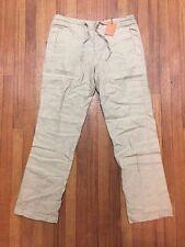 Toscano Linnen Casual Pants Sz M Retails $108