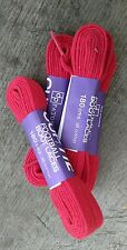 patons cotton Cup/Tie football boot laces - RED,180cm (4pr)