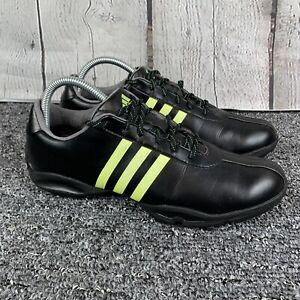 Adidas Women's Adiprene EVN 791003 Black Green Stripes Golf Shoes Size 9