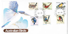 1979 Australian Birds Set of 6 (17Th Sept79) First Day Cover