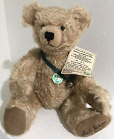Collectible Signed TeddyBear Cindy Martin Artist With Bear Sounds When You Move