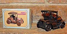 Vintage 1950w 60s Die Cast 1917 Toy Car Pencil Sharpener Item 999K - New in Box