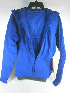 ARC'TERYX WOMENS ATOM LT INSULATED HOODY,24474, ZAFFRE, SMALL, NEW WITH TAGS