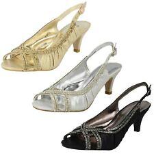 Ladies Anne Michelle Sling Back Peep Toe Sandals