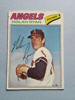 1977 Topps Nolan Ryan California Angels  Baseball Card #650