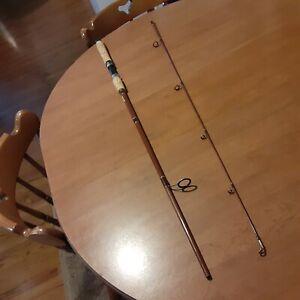 "Vintage Fenwick Classic Glass PLS65 6' 6"" Spinning Fishing Rod"